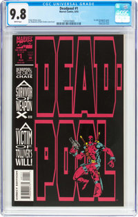 Deadpool: The Circle Chase (1993) #1 (Marvel, 1993) CGC NM/MT 9.8 White pages