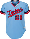 Baseball Collectibles:Uniforms, 1978 Rod Carew Game Worn Minnesota Twins Jersey, MEARS A10. ...