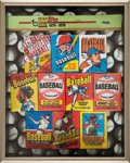 """Baseball Cards:Unopened Packs/Display Boxes, 1992 Topps 40th Anniversary Contest """"The 1970's"""" Prize Prototype. ..."""