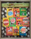 """Baseball Cards:Unopened Packs/Display Boxes, 1992 Topps 40th Anniversary Contest """"The 1960's"""" Prize Prototype. ..."""