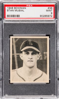Baseball Cards:Singles (1940-1949), 1948 Bowman Stan Musial #36 Rookie PSA Mint 9....