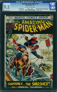 The Amazing Spider-Man #116 (Marvel, 1973) CGC NM- 9.2 Off-white to white pages
