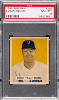 Baseball Cards:Singles (1940-1949), 1949 Bowman Duke Snider #226 PSA NM-MT 8....