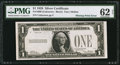 Error Notes:Missing Third Printing, Fr. 1600 $1 1928 Silver Certificate. PMG Uncirculated 62 Net.. ...