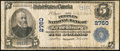 National Bank Notes:Virginia, Lynchburg, VA - $5 1902 Plain Back Fr. 598 The Peoples NB Ch. #2760. ...
