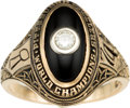 Football Collectibles:Others, 1975 Pittsburgh Steelers Super Bowl IX Championship Lady's Ring. ...