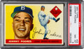 Baseball Cards:Singles (1950-1959), 1955 Topps Johnny Podres #25 PSA NM-MT 8....
