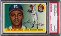 Baseball Cards:Singles (1950-1959), 1955 Topps Jim Pendleton #15 PSA Gem Mint 10 - Pop Two! ...