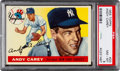 Baseball Cards:Singles (1950-1959), 1955 Topps Andy Carey #20 PSA NM-MT 8....