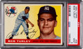 Baseball Cards:Singles (1950-1959), 1955 Topps Bob Turley #38 PSA Mint 9 - None Higher....