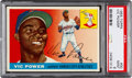 Baseball Cards:Singles (1950-1959), 1955 Topps Vic Power #30 PSA Mint 9 - Pop Three, None Higher....