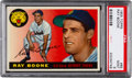 Baseball Cards:Singles (1950-1959), 1955 Topps Ray Boone #65 PSA Mint 9 - None Higher....