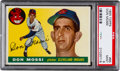 Baseball Cards:Singles (1950-1959), 1955 Topps Don Mossi #85 PSA Mint 9 - None Higher....