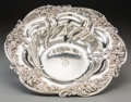 Silver Holloware, American:Bowls, A Meriden Brittania Co. Silver Repoussé Berry Bowl, Meriden,Connecticut, early 20th century. Marks: (eagle-M), STERLING,...