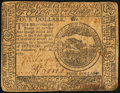 Colonial Notes:Continental Congress Issues, Continental Currency February 26, 1777 $4 Fine-Very Fine.. ...