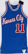 Basketball Collectibles:Uniforms, 1980 Lloyd Walton Game-Worn Kansas City Kings. ...