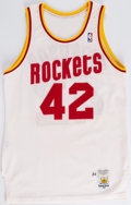 Basketball Collectibles:Uniforms, 1989 Mike Woodson Game-Worn Houston Rockets Jersey....