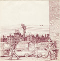 Original Comic Art:Covers, Robert Crumb Barrelhouse Blues Unused Album Cover OriginalArt (1970)....