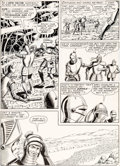 "Original Comic Art:Panel Pages, Murphy Anderson Strange Adventures #150 ""The Plant ThatHated Humans!"" Story Page 12 Original Art (DC, 1963)...."