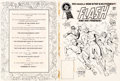 Original Comic Art:Covers, Ross Andru and Dick Giordano DC Special Blue Ribbon Digest#2 The Flash and His Friends! Wraparound Cover Original...