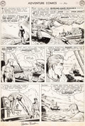 Original Comic Art:Panel Pages, Ramona Fradon Adventure Comics #170 Story Page 3 OriginalArt (DC Comics, 1951)....