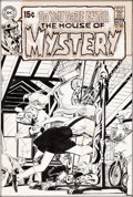 Original Comic Art:Covers, Neal Adams House of Mystery #182 Cover Original Art (DC,1969)....