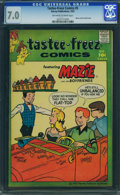 Silver Age (1956-1969):Humor, Tastee-Freez Comics #5 (Harvey, 1957) CGC FN/VF 7.0 Off-white to white pages.