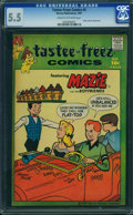 Silver Age (1956-1969):Humor, Tastee-Freez Comics #5 (Harvey, 1957) CGC FN- 5.5 Cream to off-white pages.