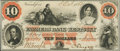 Obsoletes By State:Kentucky, Frankfort, KY- Farmers Bank of Kentucky $10 Oct. 3, 1860. ...