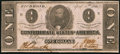 Confederate Notes:1863 Issues, T62 $1 1863 PF-4 Cr. 476.. ...