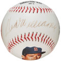 Baseball Collectibles:Balls, Ted Williams Single Signed Photoball Baseball. ...