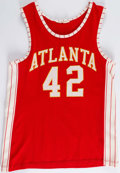 Basketball Collectibles:Uniforms, Circa 1972 Jeff Halliburton Game-Worn Atlanta Hawks Jersey &Shorts....