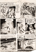 Original Comic Art:Panel Pages, Jerry Grandenetti Rangers Comics #53 Doctor Drew Page 18Original Art (Fiction House, 1950)....
