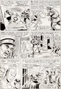 Original Comic Art:Panel Pages, Don Heck and Dick Ayers Avengers #18 Page 15 Original Art(Marvel, 1965)....