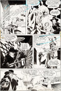 Original Comic Art:Panel Pages, Mike Kaluta and Bernie Wrightson The Shadow #3 Page 18Original Art (DC, 1974)....