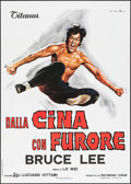 """Movie Posters:Action, The Chinese Connection (Titanus, 1973). Italian 2 - Fogli (39"""" X55""""). Action.. ..."""
