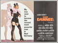 """Movie Posters:Foreign, The Damned (Warner Brothers, 1970). British Quad (30"""" X 40""""). Foreign.. ..."""