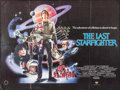 "Movie Posters:Science Fiction, The Last Starfighter (Heron, 1984). British Quad (30"" X 40"").Science Fiction.. ..."