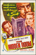 "Movie Posters:Thriller, Hidden Room & Other Lot (Oceanic, 1953). One Sheet (27"" X 41"") & Three Sheet (41"" X 79.25""). Thriller.. ... (Total: 2 Items)"