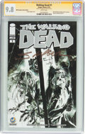 Modern Age (1980-Present):Horror, The Walking Dead #1 Wizard World Columbus Sketch Edition -Signature Series (Image, 2015) CGC NM/MT 9.8 White pages....