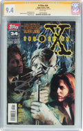 Modern Age (1980-Present):Science Fiction, X-Files #24 Signature Series (Topps Comics, 1996) CGC NM 9.4 Whitepages....