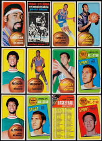 1970 Topps Basketball Mid To High Grade Collection (347)