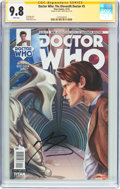 Modern Age (1980-Present):Science Fiction, Doctor Who: The Eleventh Doctor #5 Signature Series (Titan Comics,2014) CGC NM/MT 9.8 White pages....