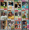 Baseball Cards:Sets, 1974 Topps Baseball Complete Set (660) Plus Traded Set (44) and Team Checklists (24). ...