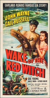 """Wake of the Red Witch (Republic, 1949). Three Sheet (41"""" X 80.25""""). Adventure"""