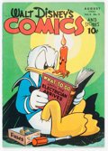 Golden Age (1938-1955):Cartoon Character, Walt Disney's Comics and Stories #59 (Dell, 1945) Condition: FN....