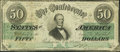 Confederate Notes:1862 Issues, T50 $50 1863 PF-13 Cr. 360.. ...