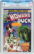 Bronze Age (1970-1979):Cartoon Character, Howard the Duck #22 (Marvel, 1978) CGC NM/MT 9.8 White pages....