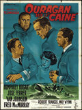 "Movie Posters:War, The Caine Mutiny (Columbia, 1954). French Grande (47"" X 63"") StyleB. War.. ..."