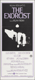 "Movie Posters:Horror, The Exorcist (Warner Brothers, 1974). Australian Daybill (13.25"" X 30""). Horror.. ..."